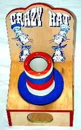 Crazy Hat Carnival Game Rental