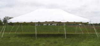 20x30 Canopy Party Tent Rental Michigan
