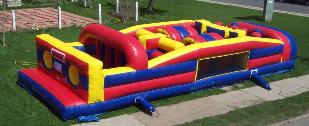 Obstacle Courses and Inflatable Games for Family Fun Days, Field Days and other School Events