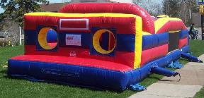 7 Element Inflatable Obstacle Course Rental in MI, OH, IN, IL, IA