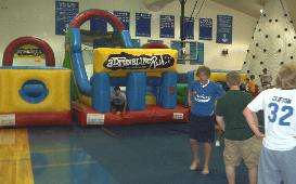 Adrenaline Rush Obsacle Course to rent for your party or event, college, after prom, graduation party