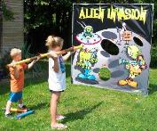 Alien Invation Carnival Game