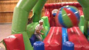 Large Obstacle Course Boulder Dash Game Rentals
