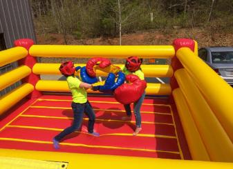 Amazing Bouncy Boxing Rental Michigan Bouncy Boxing Games In Download Free Architecture Designs Scobabritishbridgeorg