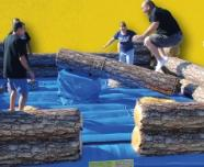 River Rush Log Slammer Game Rentals new for 2013 from Eventfun Rentals