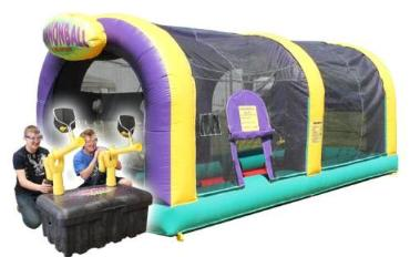Cannonball Air Blaster Action and Inflatable Dome Rentals