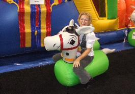 Horse Derby Game Rentals in Michigan, Ohio, Indiana, Illinois, Inflatable Horse Race Game