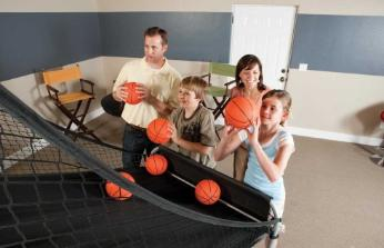 Pop A Shot Double Shot Basketball is fun for all ages
