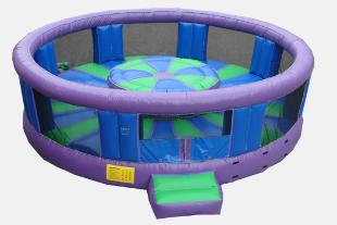 Rock and Roll Gladiator Arena Inflatable Game Rental