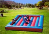 Gladiator Joust Inflatable Game Michigan Ohio Indiana Pennsylvania