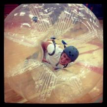 Human Sphere Hamster Ball Rental in MI, OH, IN, IL, IA, KY, TN
