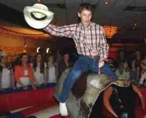 Ride a Mechanical bull in Ohio, Cleveland, Dayton, Cincinnati, Columbus