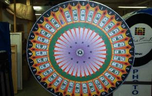 Money Wheel Rental in Michigan, Illinois, Indiana, Ohio