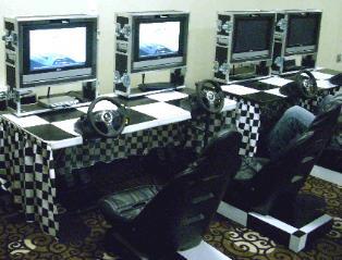 Racing Simulator Sit Down Race Car Game Rental, Michigan