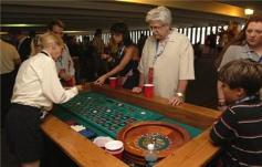 Roulette Table and Wheel and Casino Equipment Rentals for Holiday Events
