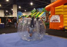 Bumper Sphere Rental Michigan Human Spheres Human Hamster Balls for Post Prom Rentals