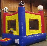 Sports Theme Bouncer Moonwalk Rentals in Michigan, Ohio, Indiana