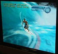 Surf Simulator Video Screen Rental