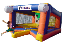 T Ball inflatable Baseball Theme Game