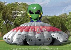 UFO Encounter Game Rental in MI, OH, IN, IL, IA Laser Tag Rentals