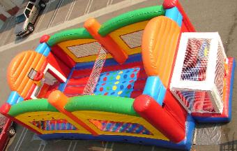 Rent Interactive and Inflatable Games in Iowa