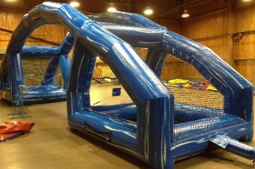 Inflatable Water Balloon Battle
