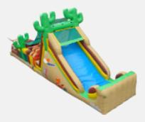 Western Cactus Obstacle Course Inflatable Rental